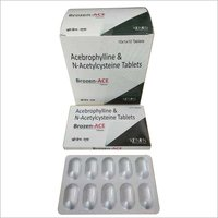 Acebrophylline & N-Acetylcysteine Tablets