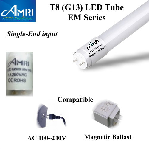 T8 EM Series Single End Input LED Magnetic Ballast