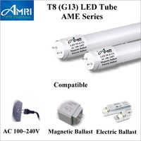 T8 AME FL Series LED Tube Light Magnetic And Electric Ballast