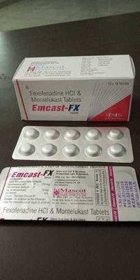 Fexotenadine HCl & Montelukast Tablets