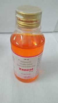 Bromhexine HCl Terbutaline Sulphate Guaiphenesin & Menthol Syrup