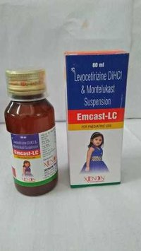 Levocetirizine DiHCl & Montelukast Suspension