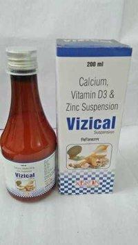 Calcium, Vitamin D3 & Zinc Suspension