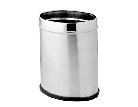 Plain Dust Bin- Oval