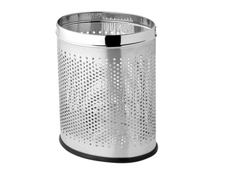 Perforate Dust Bin - Oval