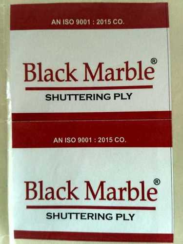 Black Marble-Shuttering Plywood