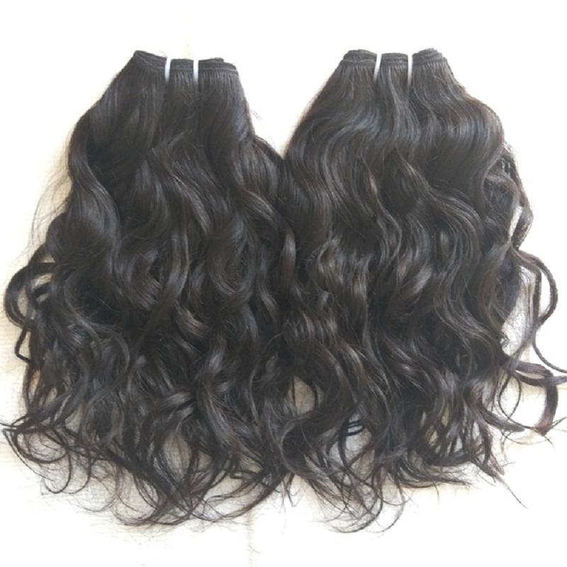 Natural Vintage Wavy human hair