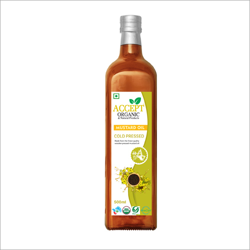 Organic Cold Press Edible Oil