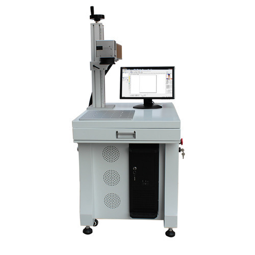SemiAutomatic laser Marking Machine 20W, 30W, 100 W