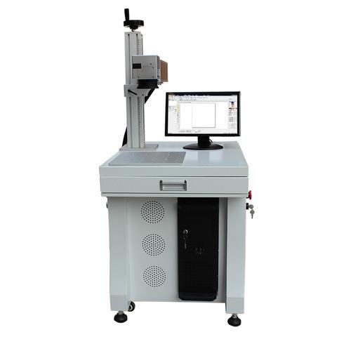 Deep laser engraving machine for metal