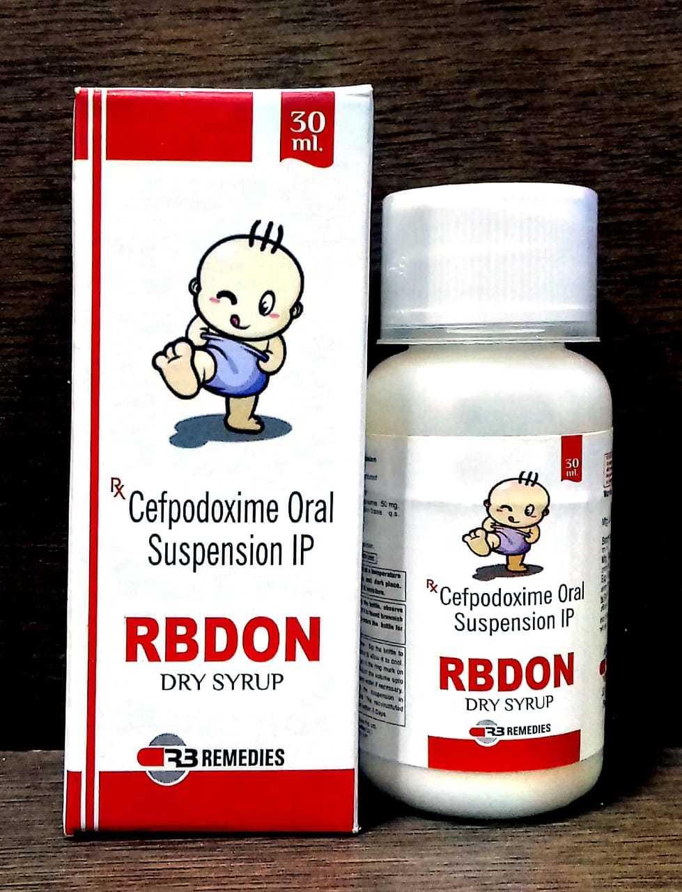 Cefpodoxime Dry powder