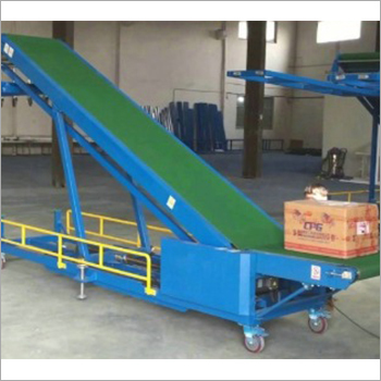 Truck Loading Belt Conveyor With Stacker