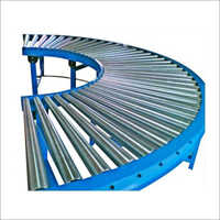 90 Degree Turn Roller Conveyor