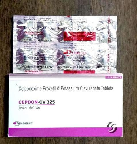 Cefpodoxime  200 mg + Potassium clavulanate 125 mg Tablet
