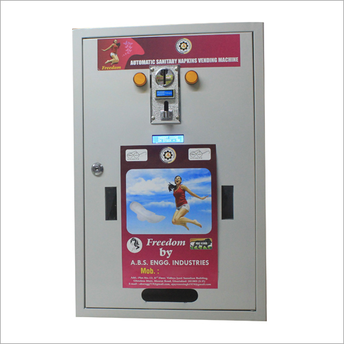 Automatic Sanitary Napkins Vending Machine -50 Pads.