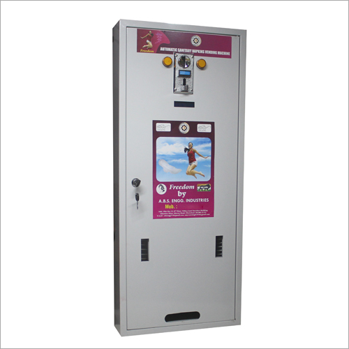 Automatic Sanitary Napkins Vending Machine-100 Pads.