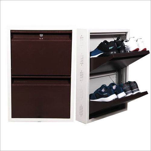 2 Layer Storage Wall Mounted Shoe Rack