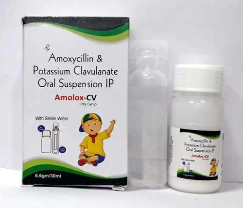 Amoxycillin 200 mg Potassium clavulanate 28.5 mg