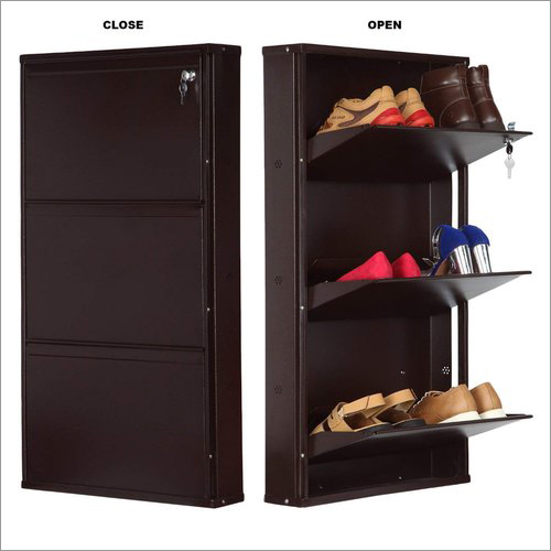3 Shelf Wall Mounted Shoe Rack