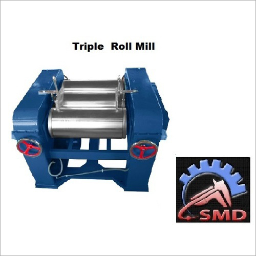 Triple Roll Soap Milling Machine