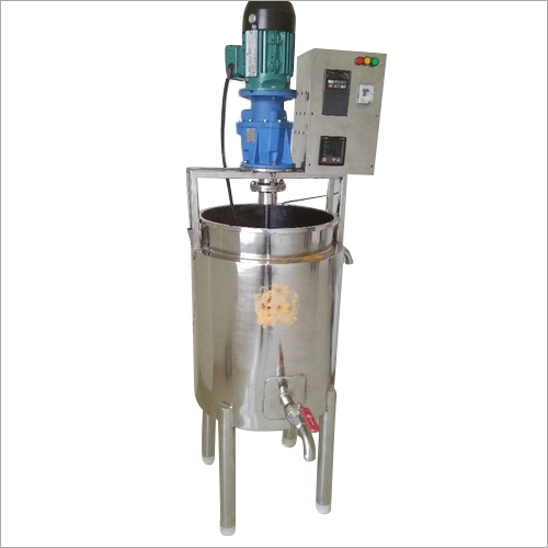 SS Soap Boiler With Motor Machine