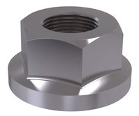 DIN 74361b Flat collar nut form B