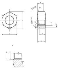 DIN 934 Hexagon Nut