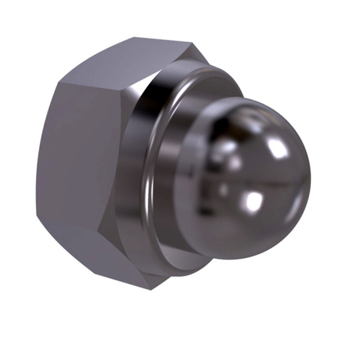 DIN 986 Prevailing torque hexagon domed nut