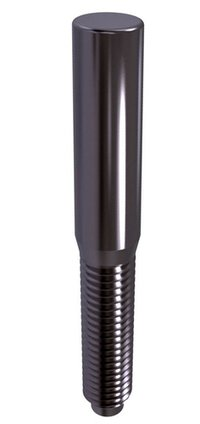DIN 7977 Taper pins with external thread