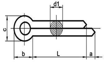 DIN94 Split Cotter Pins