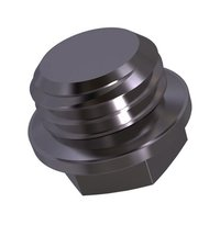DIN 7604 c Screw plug with collar and external hexagon