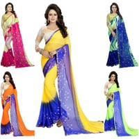NEW LETEST CHIFFON  SAREE