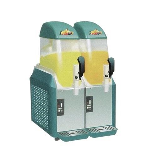 Semi-Automatic Double Slush Machine
