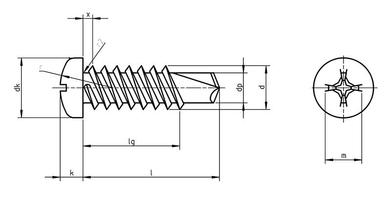 DIN 7504n Self Drilling screws