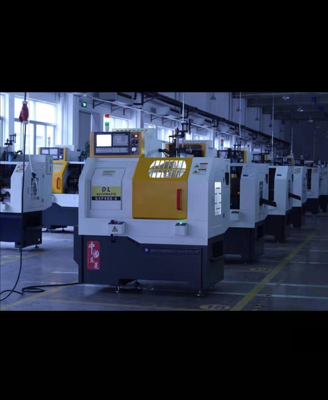 Horizontal Automatic CNC Lathe Machine