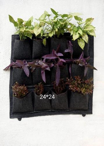 Black/Green Grow Bags