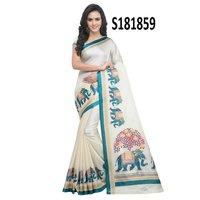 new letest khadi silk saree