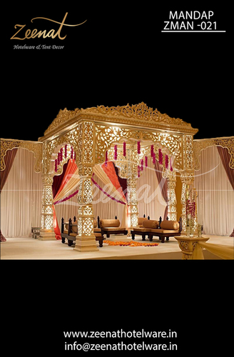 FIBER WEDDING MANDAP