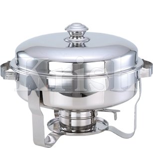 Round Flat Cover Chaffing Dish