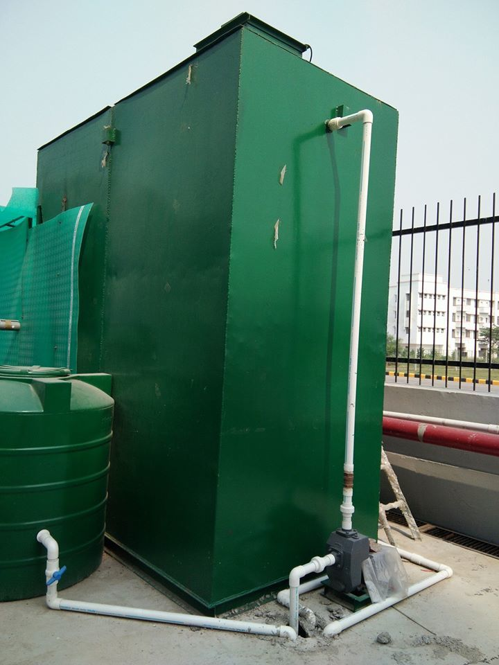 SEWAGE TREATMENT PLANT FOR HOTEL
