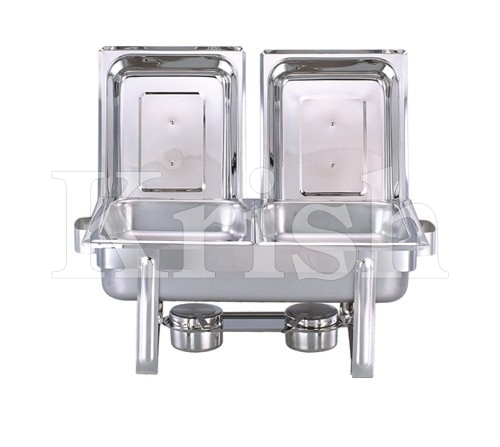 Economy Chaffing Dish w 2 Partition