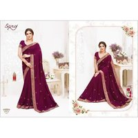 Elegant fancy silk saree