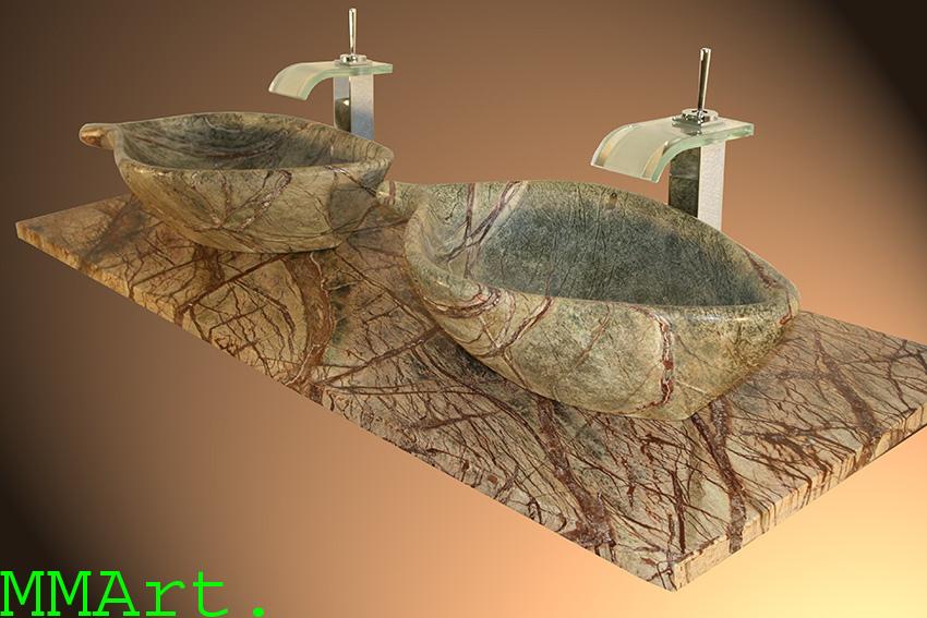 Semi precious Sink