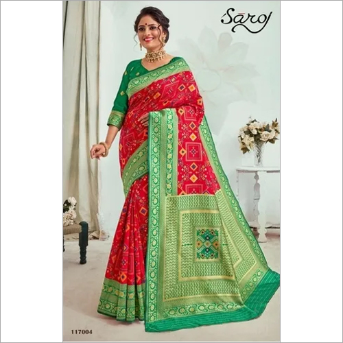 Beautiful Patola silk saree