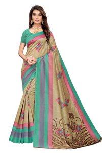 new kalamkari mysore silk saree