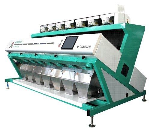 5 Chute Walnut & Almond Color Sortex Machine