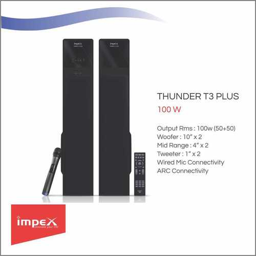 IMPEX Speaker 2.0 (THUNDER T3 Plus)