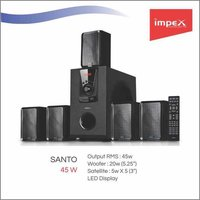IMPEX Santo With Bluetooth 5.1 Speaker System