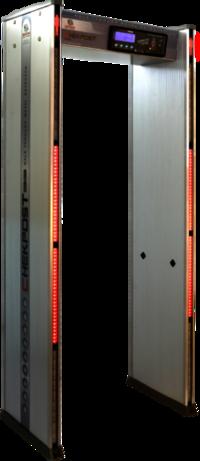 security door frame metal detector