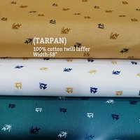 Tarpan 100% cotton twill laffer